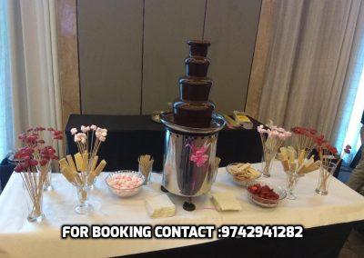 Chocolate Fountain Rental Bengaluru